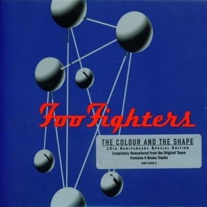 Carátula cd de foo fighters the colour and the shape (10th.